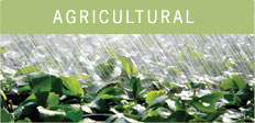 Agricultural: As our population continues to grow, so does our demand for agriculture products.